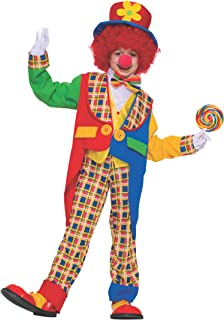Forum Novelties Child's Clown On The Town Costume, X-Large