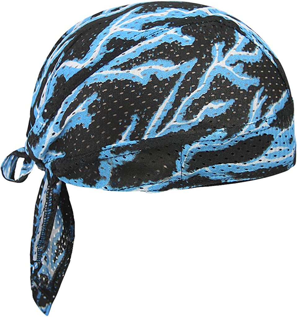 MioCloth Cycling High order Skull National products Cap Sun Dew Protection Bandana Cotton UV