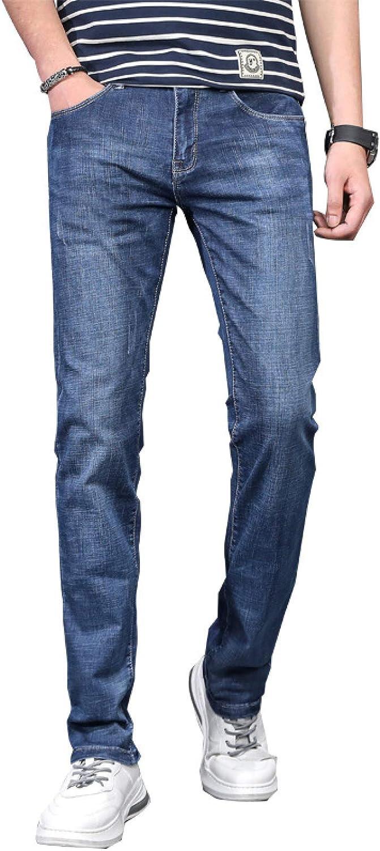 Men's Straight Seasonal Wrap Introduction Slim-fit Jeans Classic In 5-Pocket Fresno Mall Zipper Placket
