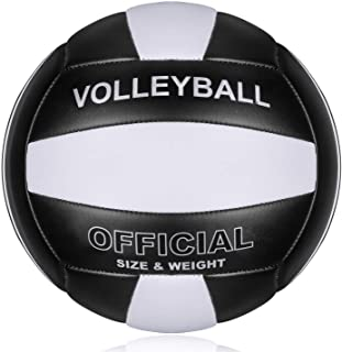 Sponsored Ad - Professional Size 5 Volleyball, PECOGO PU Leather Soft Indoor Outdoor Volleyballs Sports Training Equipment...