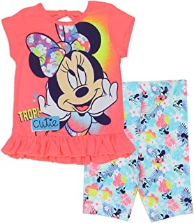 60e05c639 Disney Clothes - Minnie Mouse Clothes Set - Minnie Mouse Shirt and Shorts  Set for Girls