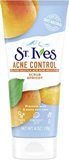 St Ives Naturally Clear Apricot Blemish and Blackhead Control Scrub, 170g