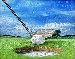 Golf Ball Near Bunker Jigsaw Puzzle Print 252 Pieces