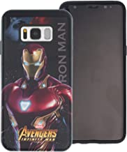 Galaxy S7 Edge Case Marvel Avengers Layered Hybrid [TPU + PC] Shock Absorption Bumper Cover for [ Galaxy S7 Edge ] Case - Infinity War Iron Man