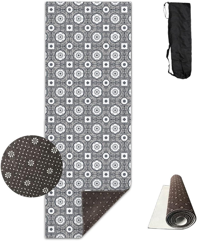 HHHSSS Domus Aurea 1c Fabric (5100) Yoga Mat Thickening Widening Long Men Women NonSlip Yoga Dance Fitness Mat