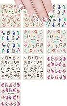 allydrew 71220 Water Slide Decals (10 Sheets) Nail Art, Mermaid & Unicorns
