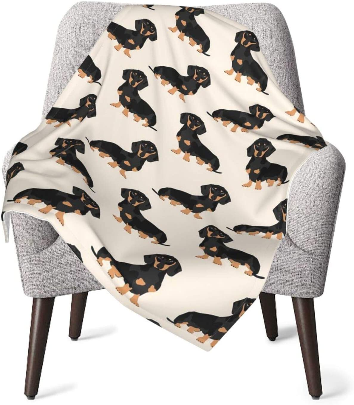 Doxie Cheap mail order shopping Dachshund Weiner Dog Flannel Fleece Blanket New Free Shipping Soft Wa Throw