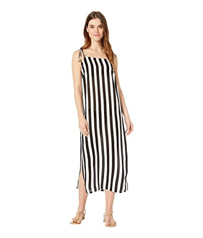 MIKOH SWIMWEAR Okayama Cover-Up (Retro Stripe Night) Women