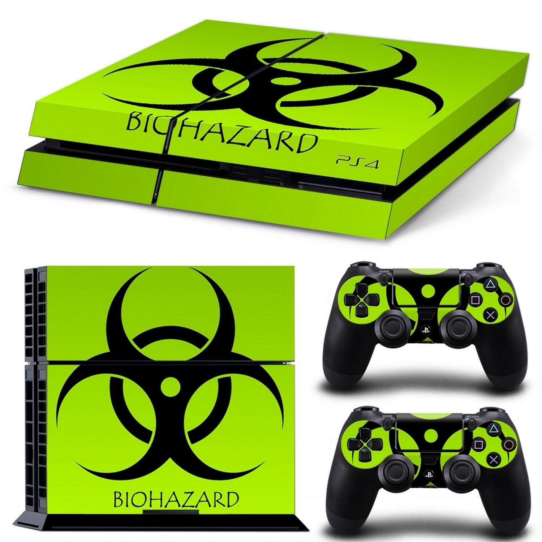 ADATECH VINILO compataible con Playstation 4 Vinilo Biohazard pegatina para consola y dos mandos.: Amazon.es: Videojuegos