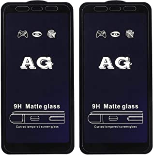 Dragon Glass Anti-Glare Screen Protector for Xiaomi Redmi 5 Plus Mobile Phone, Set of 2 - Black