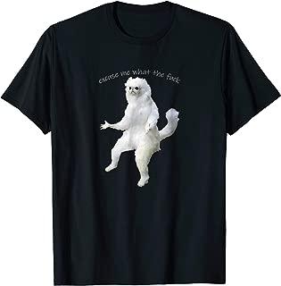 Excuse Me What The Fuck Shirt Persian Cat Room Guardian Meme