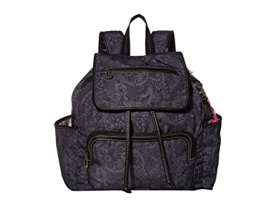 Sakroots Fleetwood Backpack (Black Spirit Desert) Backpack Bags
