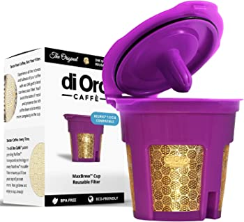 di Oro Caffe MaxBrew Keurig Reusable K-Cup Coffee Filter