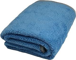 Microfiber Plush Car Drying Towel Cleaning Towels Super Absorbent Auto Detailing Towel (40 x 60 cm, Light Blue)