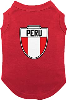 Haase Unlimited Peru - Country Soccer Crest Dog Shirt