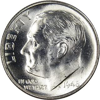 1948 silver dime