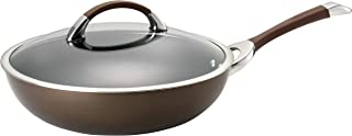 Circulon Symmetry Chocolate Nonstick Covered Stir Fry Ultimate Pan, 12