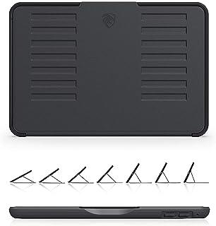 ZUGU CASE - 2019 iPad Mini 4/5 ケース The Muse Case 極薄 落下衝撃保護 7段階スタンド機能 オートスリープ スマートカバー (ブラック)