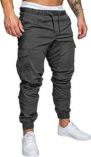 Yidarton Men's Cargo Pants Slim Fit Casual Jogger Pant Chino Trousers Sweatpants
