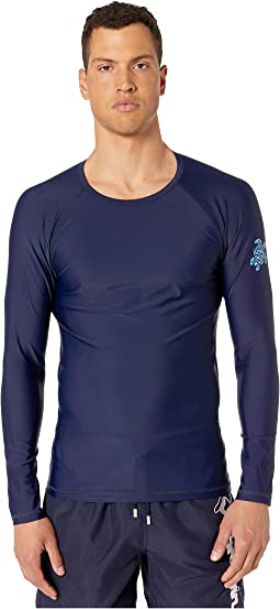 Takeoff Herringbone Turtles Rashguard