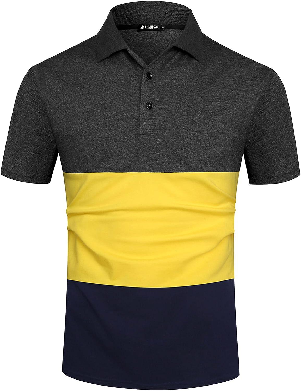 Musen Men Brand Cheap Sale Venue Short Sleeve Polo Shirts Casual Colo Fit Modern Now on sale Cotton