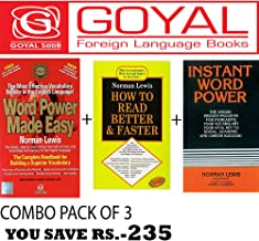 Word Power Made Easy + How to Read Better and Faster + Instant Word Power (Set of 3 books)