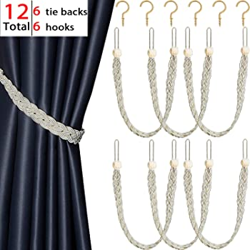 Explore Rope Tiebacks For Curtains Amazon Com