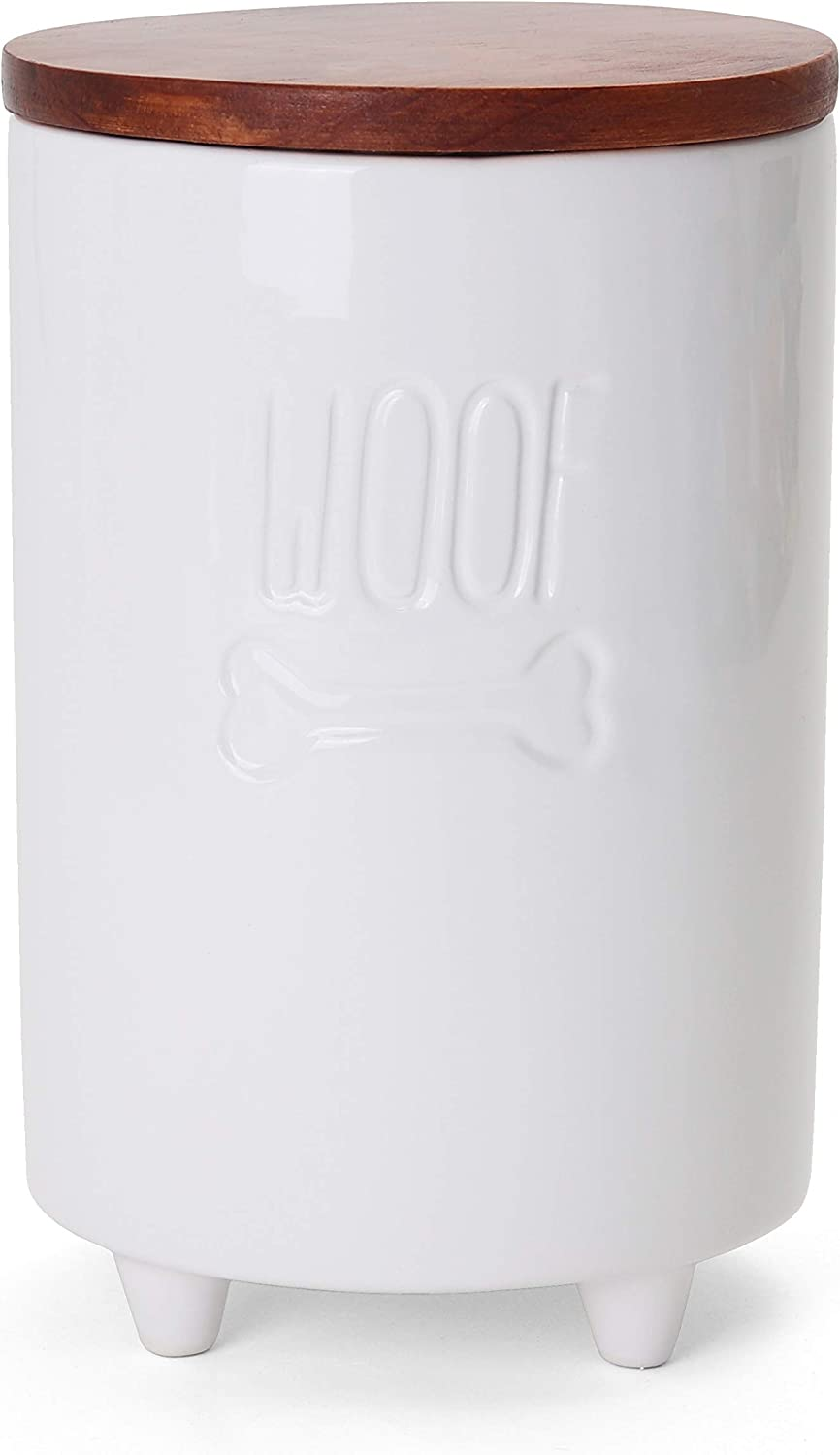 Directly managed store Milltown service Merchants Dog Treat Jar w - D Lid Container