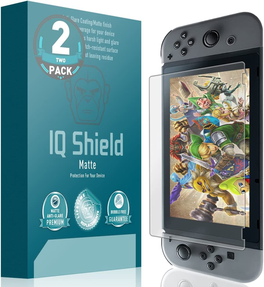 Ranking TOP16 IQ Shield Matte Screen Protector Nintendo Switch Compatible with Low price