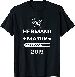 Hermano Mayor 2019 Loading Cargando Playera Futuro Hermano T-Shirt
