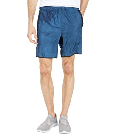 RVCA Yogger IV Shorts (Painted Blue) Men
