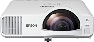 Epson PowerLite L200SX XGA 3LCD Short-Throw Laser Display with Built-in Wireless and Miracast