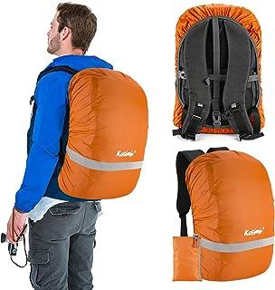 Kasimir Funda para Mochila Cubierta Impermeable de Mochila 15-50L Protectora Funda de Mochila Anti Polvo para Excursionismo Camping, Viajar, Actividades al Aire Libre Caminar