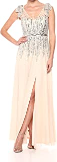 Aidan by Aidan Mattox Women's Beaded Dress
