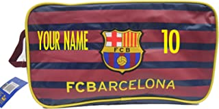 FC Barcelona Shoe Bag Add Your Name and Number Customized Bag Messi 10