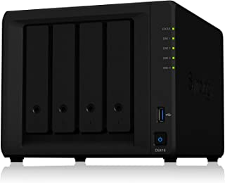 Synology DiskStation DS418 4ベイ NAS キット 日本正規代理店アスク サポート対応 クアッドコアCPU搭載 保証2年 CS7060