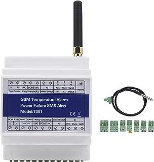 Fjärrövervakning av temperaturalarmet, ett relä 0 med uppringnings- eller SMS-fjärrkontroll, supporttimerrapport, trådlös ...