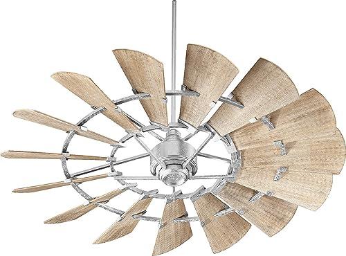 "2021 Quorum International Windmill 60"" Ceiling outlet online sale Fan - Galvanized discount - 96015-9 outlet sale"