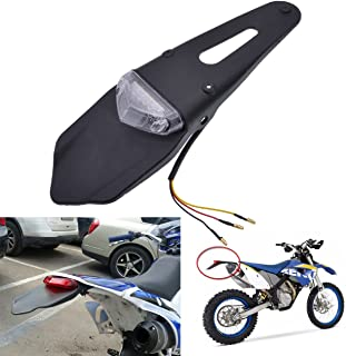 con luz LED Soporte para matr/ícula de motocicletas de la marca BJ Global