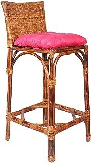 A amp E Brown Chair made Rattan  amp  Wicker