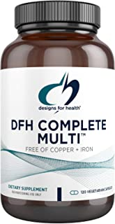 Designs for Health DFH Complete Multi - Premium Full Spectrum Multivitamin, Multimineral Supplement with Folate, Immune Su...