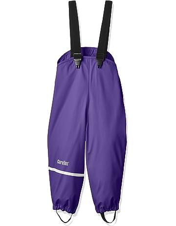 Grey CareTec Pantaloni Impermeabili Unisex Unisex bambino//Bambina 140 Grigio