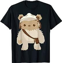 Star Wars Lumat Ewok Cute Cartoon Warrior Graphic T-Shirt