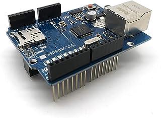 W5100 LAN Ethernet Shield شبكة لوحة Arduino