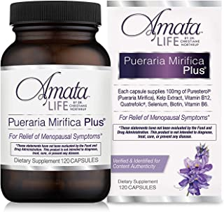 Amata Life by Dr. Christiane Northrup Pueraria Mirifica Plus Capsules 60 Day