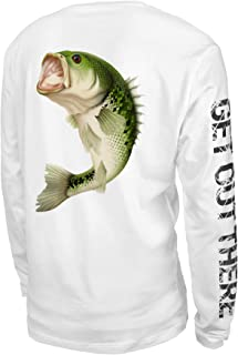 UPF 50+ Performance Long Sleeve Shirt for Fishing,...
