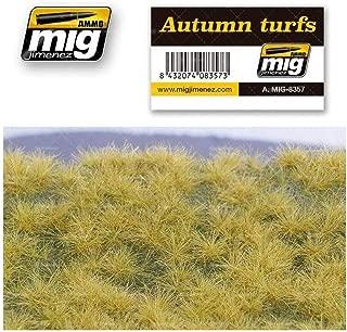 AMMO MIG-8357 Autumn Turfs Grass Mats, Multicolour