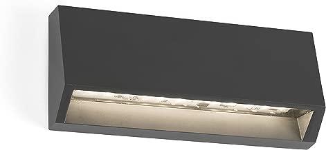 BRUC LED Aplique gris oscuro Faro Barcelona 70828