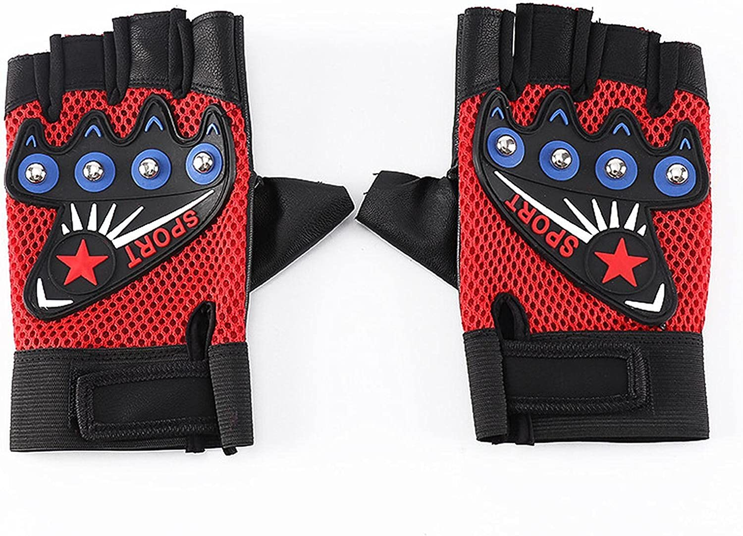 Sport Cycling Kansas City Mall Motorcycle Gloves Cool Finger Charlotte Mall Bicycle Moutain Half