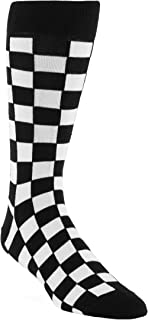 Statement Sockwear Checkered Pattern Men's Socks